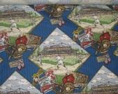 Vintage baseball fabric...