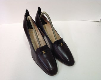 Rare Vintage Brown Gucci Women shoes Size 39/9 AA