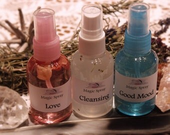 Magic cleansing spray