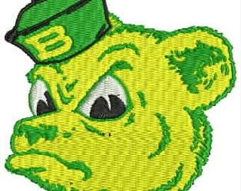 Baylor University Embroidery Design