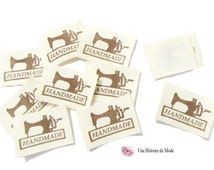 Lot of 10 labels sewing registered
