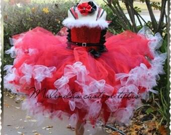 Santa petti  tutu dress