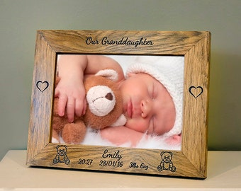 Personalised  Photo Frame - Engraved
