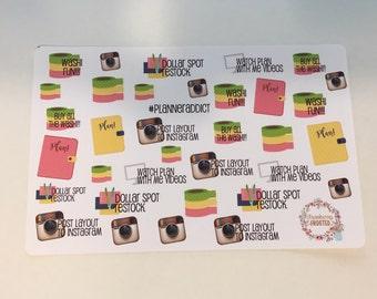 Planner Addict- Happy Planner & Planner Stickers
