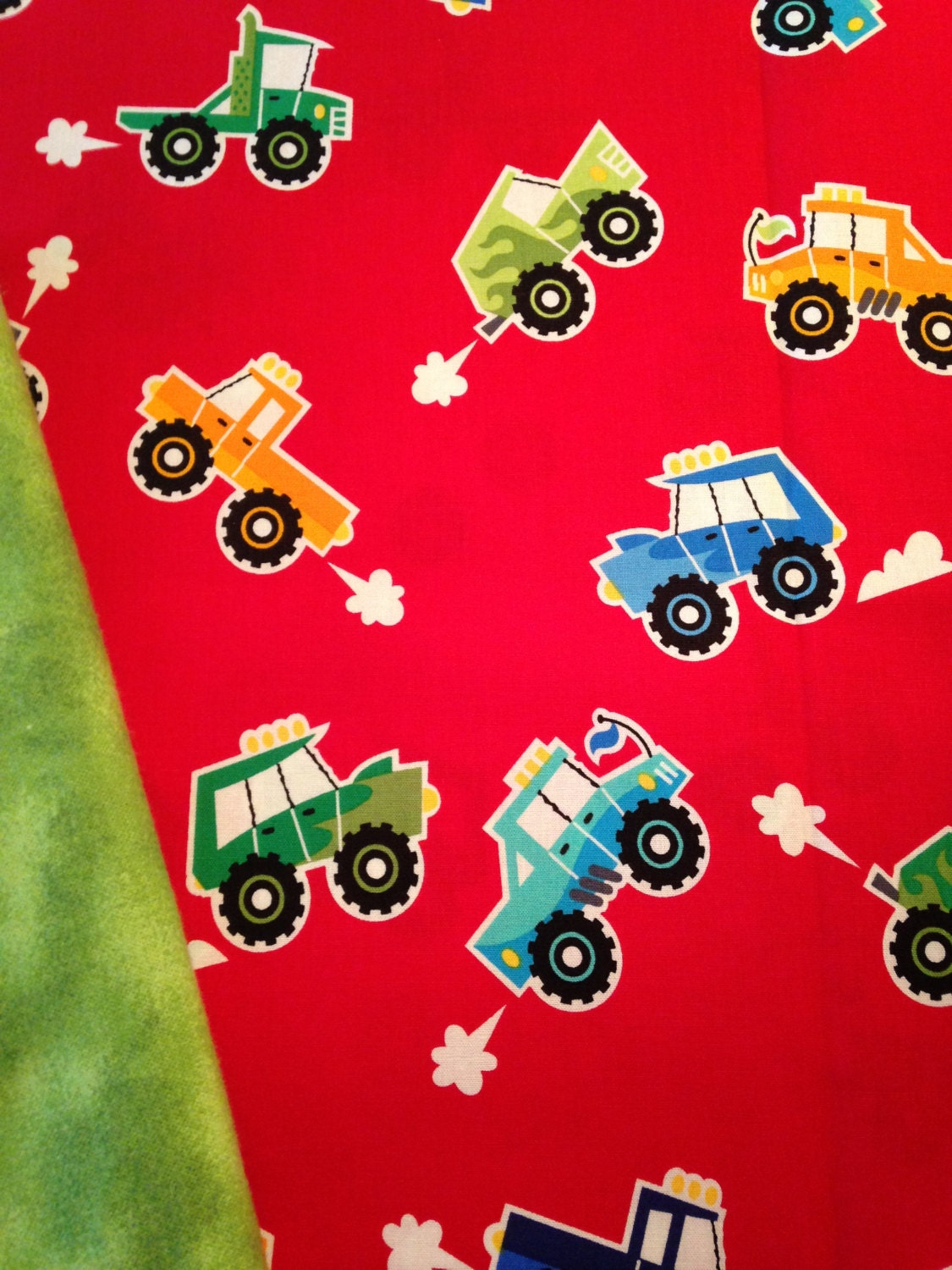 Monster Trucks 4 Pound Weighted Blanket Ready To Ship