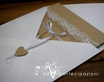 Wedding invitation country participation
