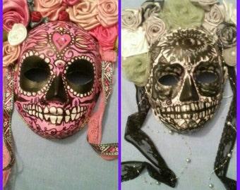 Sugar skull/day of the dead/los dia de los muertos mask