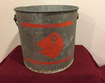 Minnow Bucket, JC Higgins Minnow Bucket, Sears Roebuck & Co.