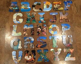 ABC Wooden Letters