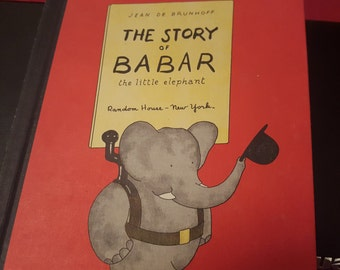 Babar.. The story of Babar random house New York