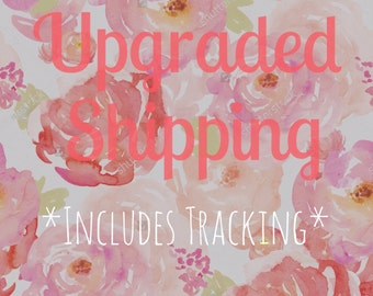 Upgraded Shipping for the USA - Includes Tracking
