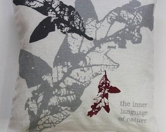 Handprinted CUSHION COVER R5