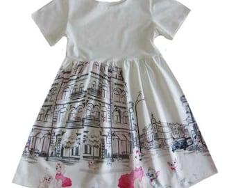 PIA dress pattern, sizes 62-104 (6mo-4/5yr)