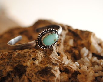 Turquoise Cuff | Sterling Silver