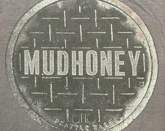 1990 Mudhoney Manhole Cover T-Shirt