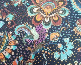 Liberty Tana Lawn - Grand Bazaar (A) - An Opulent Oriental Floral from the A/W 16 Collection 'The Silk Road'