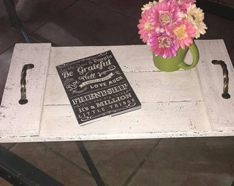 Rustic Reclaimed Wood Tray