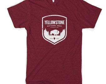 Yellowstone Badge Cotton T-Shirt