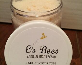 Vanilla Sugar Scrub - 4 Oz