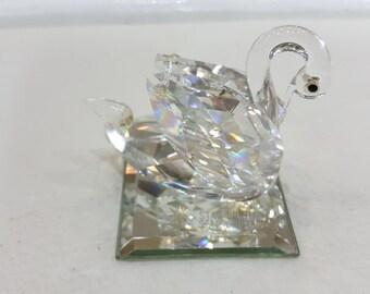 Austrian Crystal Swan
