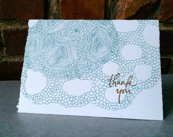 Organic Thank You Card
