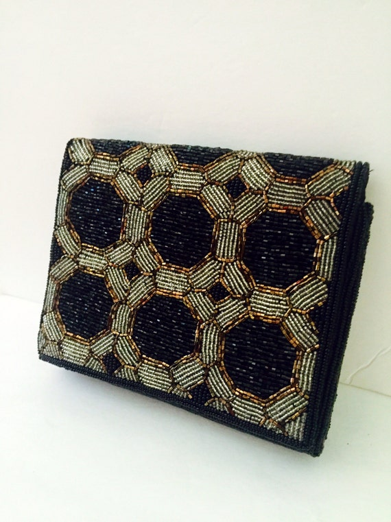 The Metallic Clutch Bag   Geometric HandBag 3D Metal ...  Formal Gold Clutches