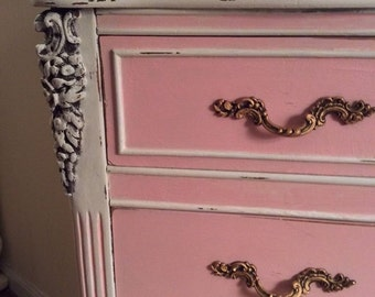 Shabby Chic end table/SOLD