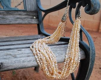 10 strand fresh water pearls