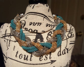 Beautiful but daring braided braclet