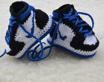 Crochet Jordans : crochet nike crochet fragment design x jordan 1 crochet jordan 1 us 34 ...
