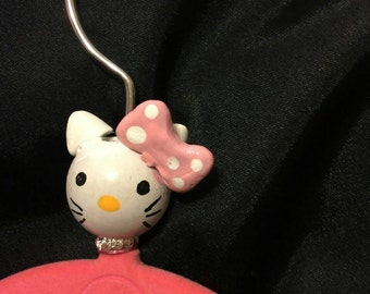 Set of 5 Unique Girl Decorative Kitty Clothes Hanger