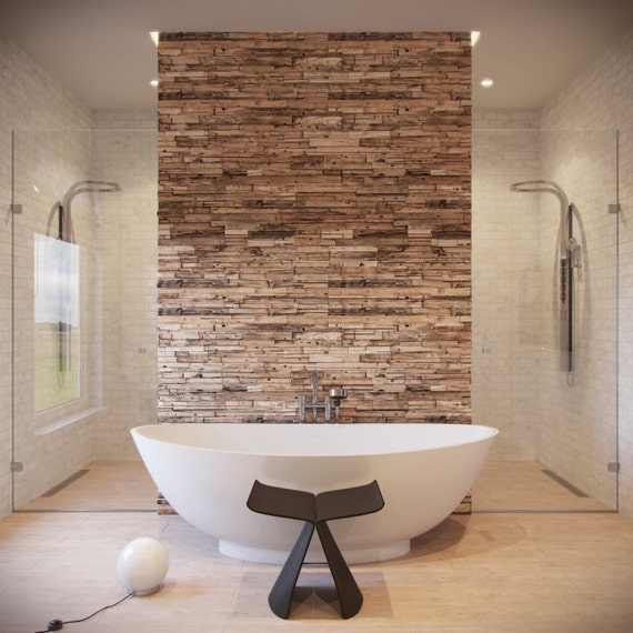 Reclaimed Wood Wall Rustic Wall Panels Decorative Wall by