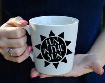 Fun In The Sun Coffee Mug