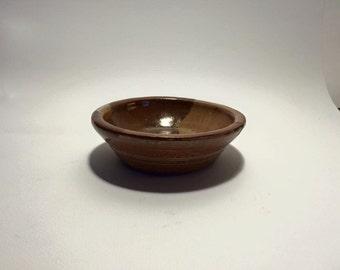 Vintage dish mcm bowl studio pottery