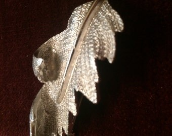 Signed vintage coro brooch