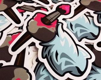 Primitive Artist Vinyl Sticker