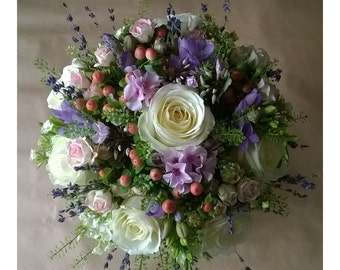Cottage Garden Dream - Bridal Bouquet - Wedding Flowers