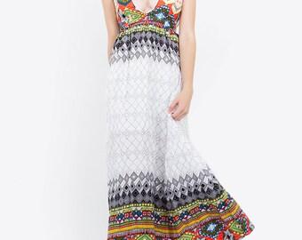 Casablanca Summer Maxi Dress