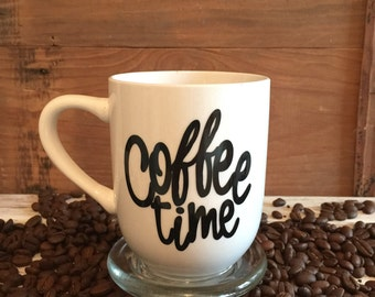 The 'Coffee time' coffee cup