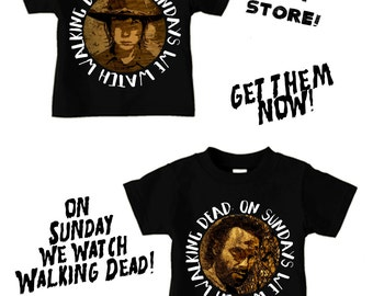 On Sundays we watch walking dead SALE!!