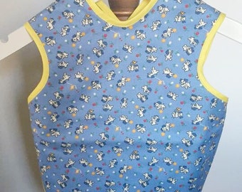 Bapron , baby bib, baby smock , childrens bib , baby cover up