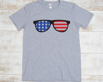 4th of July Patriotic Shades T-shirt for Independence Day!!! Get it before the Fourth!