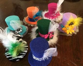 Custom Mini Top Hat: Set of 7