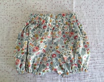 Bloomer Liberty Betsy porcelain custom made hand, made in france, returned, panties,.
