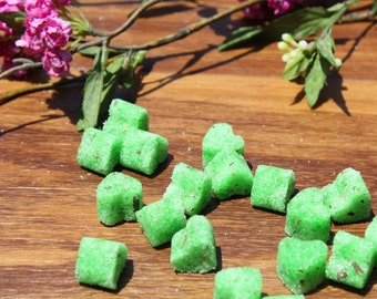 Mint Flavored Sugar Cubes