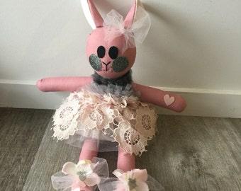 TAILA DANAE DESIGNS 100% Hand Made Bunny Small