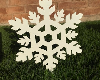 Snowflake - 05 -  Metal Yard Art, Christmas Decor, Lawn Decorations, Outdoor Christmas Decoration, Winter Snowflake