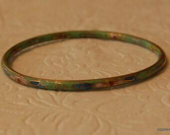 Vintage Cloisonne Bracelet