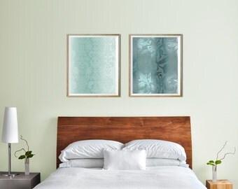 Set of 2 prints Wall art set Modern printable wall art Modern prints wall décor Contemporary wall décor Printable art set Instant download
