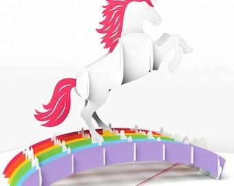 Lovepop 3D Unicorn Card